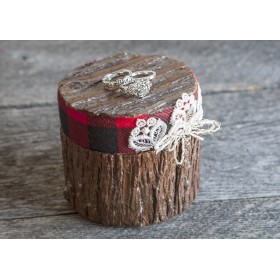 Ring holder (Red and black) (HR47)