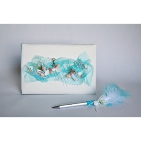 Guest book (GBW195) (turquoise)