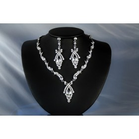 Necklace and earrings set (NE303)