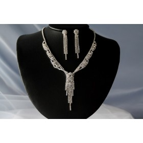 Necklace and earrings set (NE319)