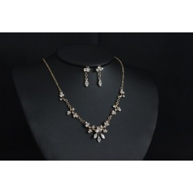Necklace and earrings set (NE329)