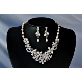 Necklace and earrings set (NE307)